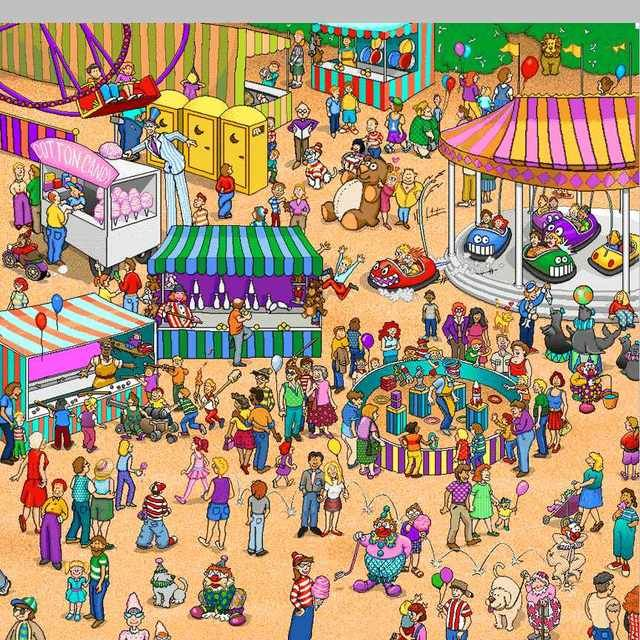 Playing Wheres Wally Instead Of Studying Procrastination