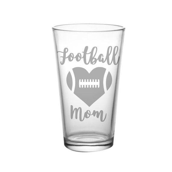 Football Mom Gift Idea, Football Banquet, Football Christmas Gift, Football Team Mom, Football Love, Football Heart, Heart Football
