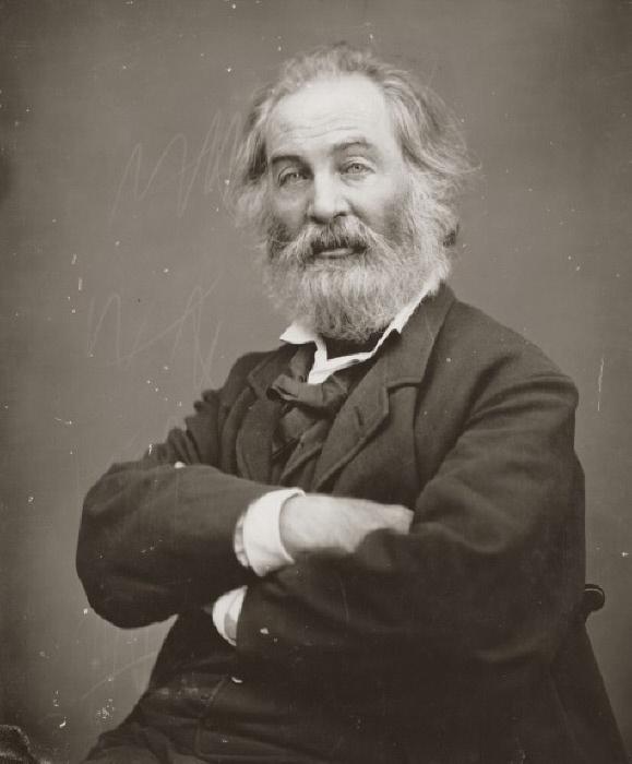 """31 maggio. Walt Whitman """"Io canto l'individuo, la singola persona; al tempo stesso canto la Democrazia, la massa"""""""