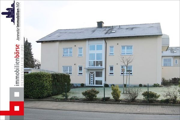 Mietwohnung KJI 5297 - Erdgeschosswohnung mit Sonnenbalkon und Garage in Bielefeld-Milse
