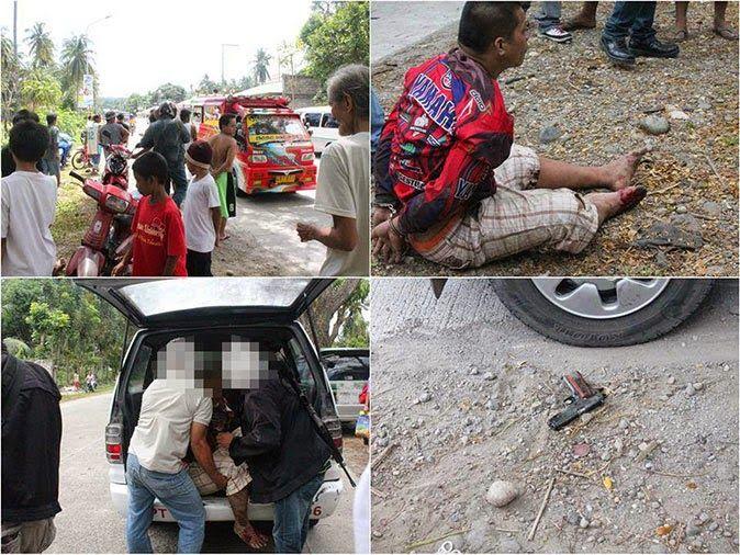 Shooting incident in Sibulan, Negros Oriental captured on video