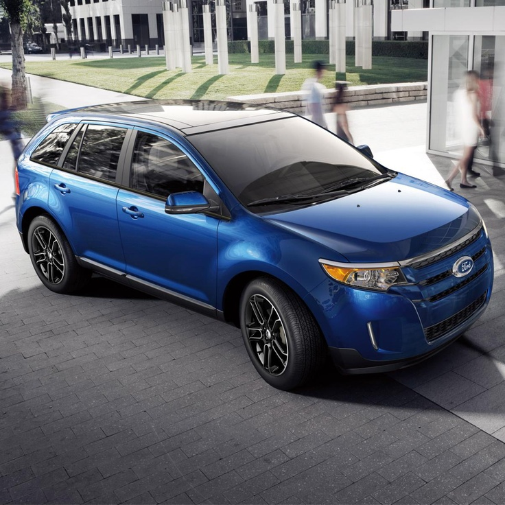 Ford Edge! Hello BLUE!