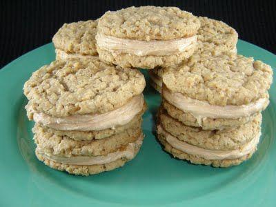 Eat Cake For Dinner: Double Decker Peanut Butter Sandwich Cookies