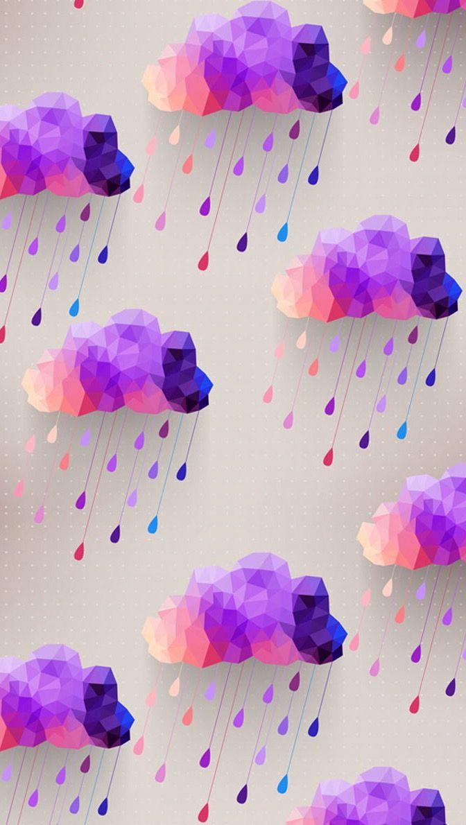 Cute Watercolor Laptop Wallpapers Pin De Amber Em Clouds ⛅️ Papel De Parede Para Telefone