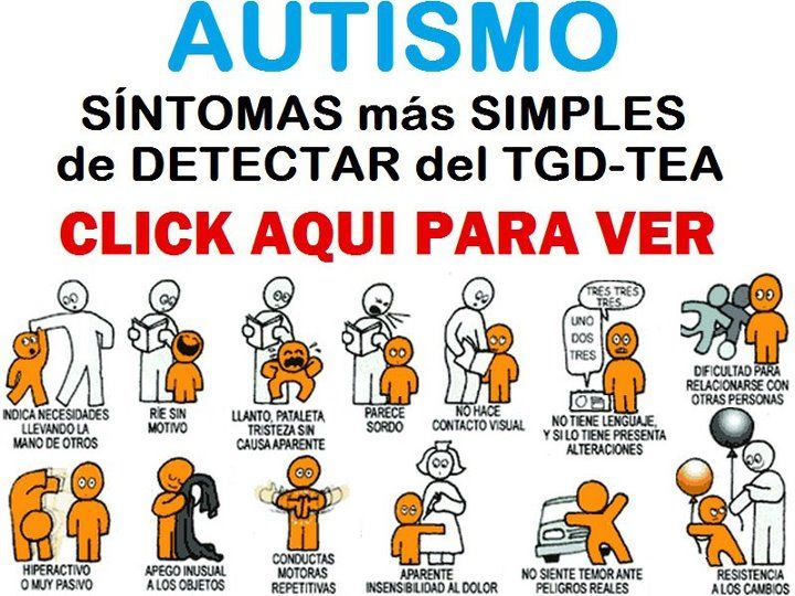 Autismo: Síntomas más simples para detectar del TGD-TEA