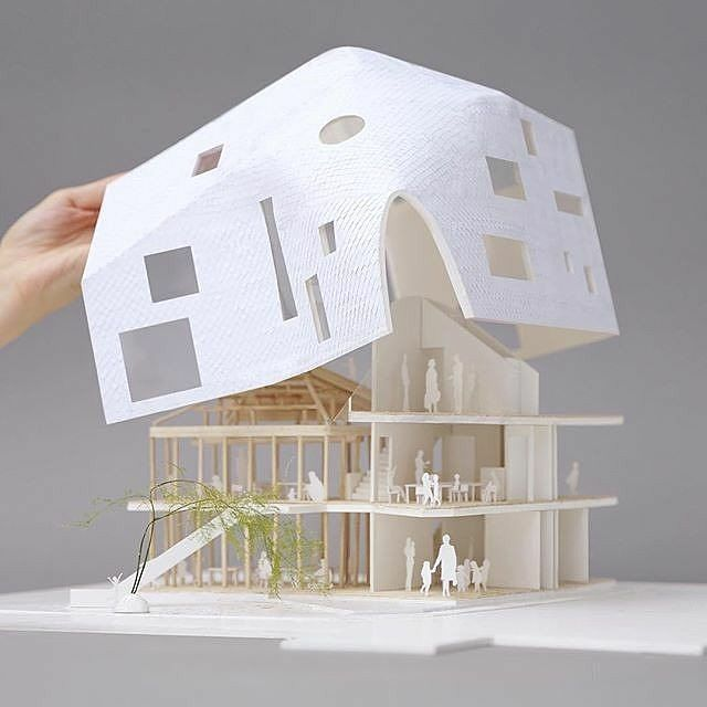 What a detailed model Source @poche_architecture Follow @poche_architecture #poche_architecture #Allofarchi