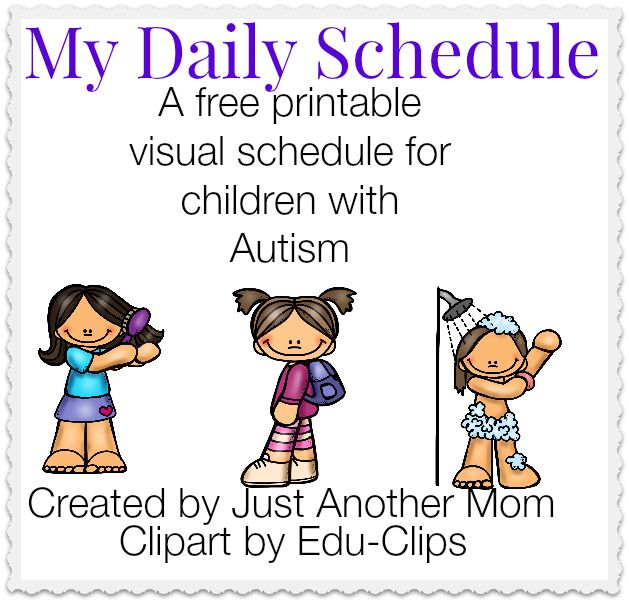 ... to Create Visual Schedules Plus a Website to Create Free Printables