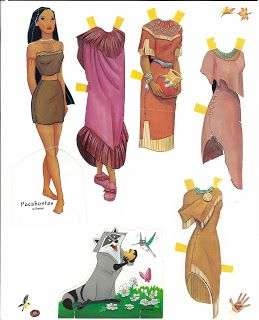 Miss Missy Paper Dolls: Disney