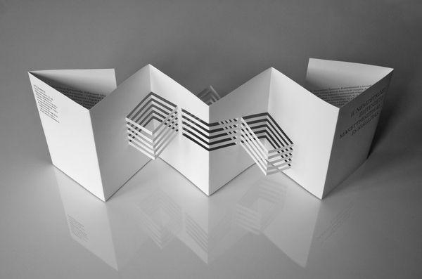 Architectural model festival   brochures on Behance