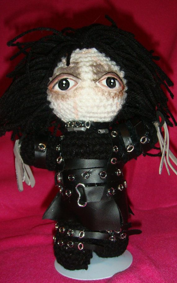 12 Best Tim Burton Images On Pinterest Crochet Dolls