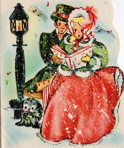 Joy And Noel Holiday Caroler: 124 Best CHRISTMAS CAROLERS Images On Pinterest