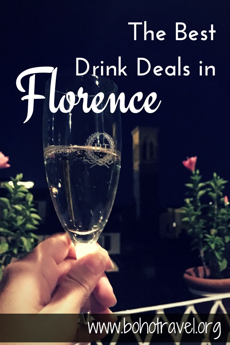 The Best Drink Deals in Florence  | Florence nightlife | drinking in Florence | Florence drink specials | bars in Florence | study abroad in Florence | Florence travel tips