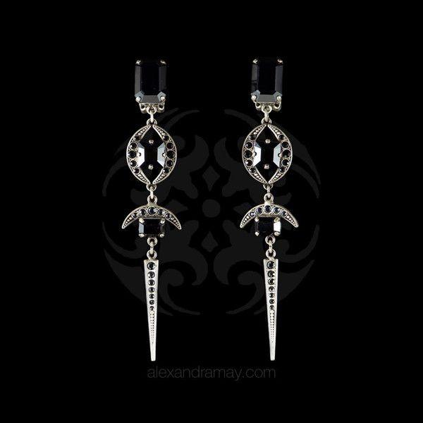 art deco oriental earrings - Google Search
