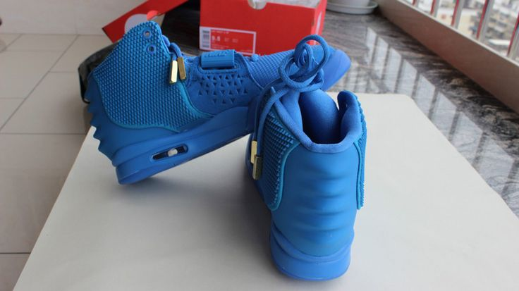 Prefect Nike Air Yeezy 2 Light Blue  #Nike #Air #Yeezy #Shoes