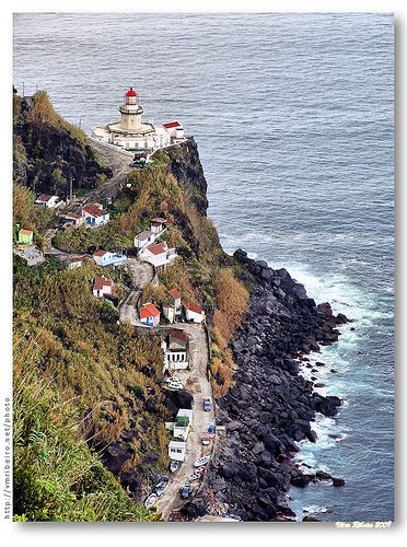 St Miguel Island, the Azores (Portugal) Ponta do Arnel #Lighthouse https://www.flickr.com/photos/vribeiro/4010197615/in/set-72157619600558186
