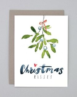 Petite Alma collection of cards featuring joyful holiday watercolour illustrations