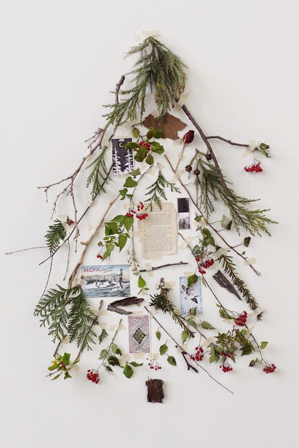 An alternative Christmas tree by the free people blog