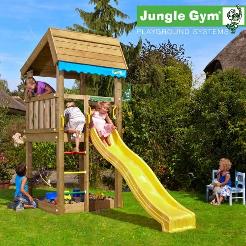 Jungle Gym Home - Wooden Climbing Frames for Children : Wooden Climbing Frames for children