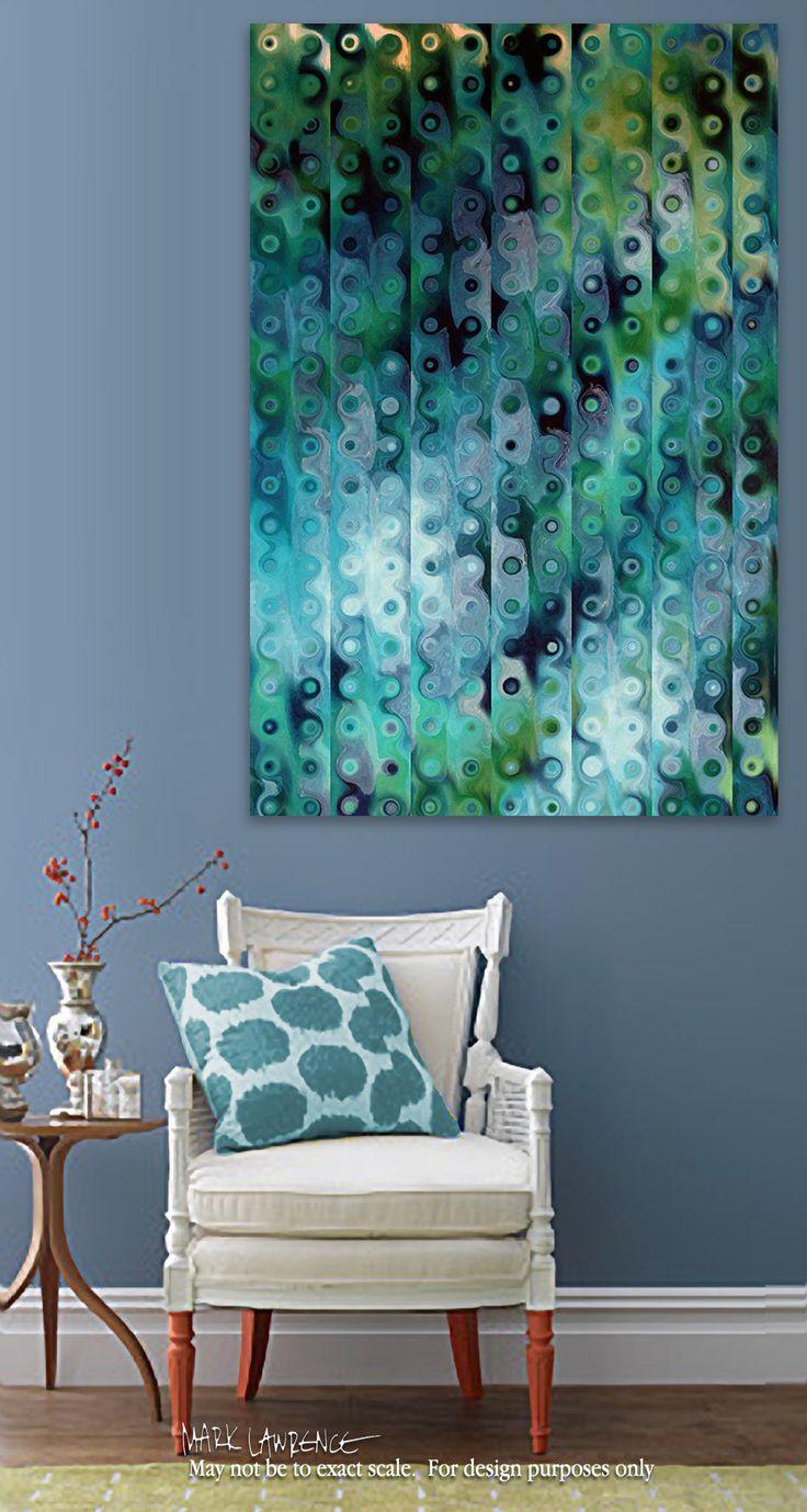 Room View- Christian Art   Proverbs 29:18. Reaching Beyond Our Grasp   Modern Abstract Art