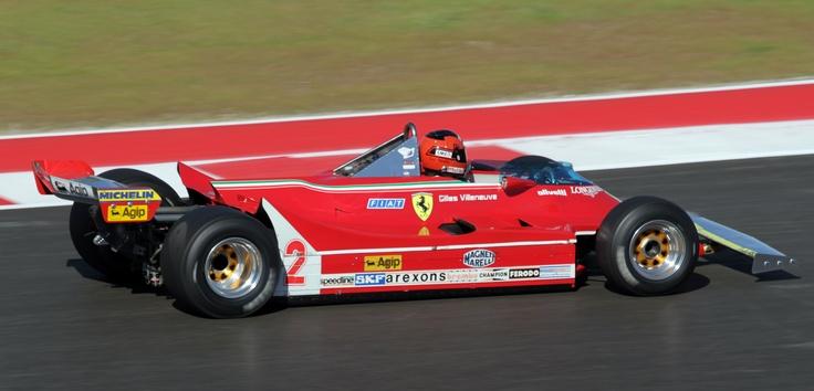 Gilles Villeneuve Ferrari 312 T5 1980 (Austin 2012) © Peter Linder