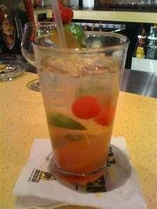 Black Cherry Mojito from Food.com:   Recipe given to me by the bartender at my local Buffalo Wild Wings.  YUMMY!!!
