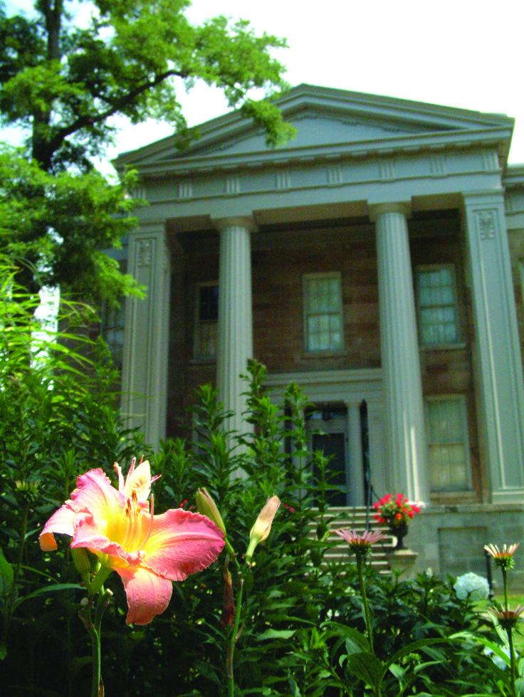 1840's Greek Revival Mansion at Ruthven Park National Historic Site.