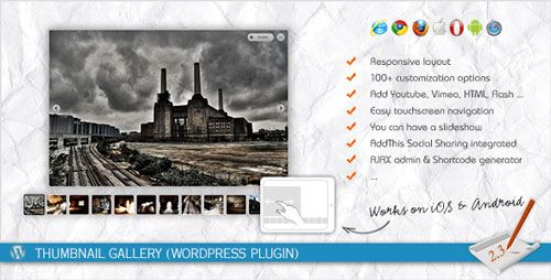 Download Thumbnail Gallery Wordpress Plugin - http://wordpressthemes.me/download-thumbnail-gallery-wordpress-plugin/