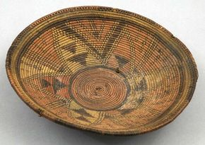 Africa   Basket from the Kanuri people from Lake Chad region, Nigeria   ca. 20th century