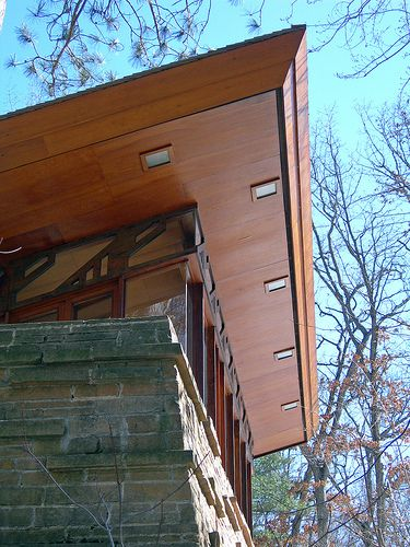 Seth Peterson Cottage, by Frank Lloyd Wright 20090312 4184 | Flickr - Photo Sharing!