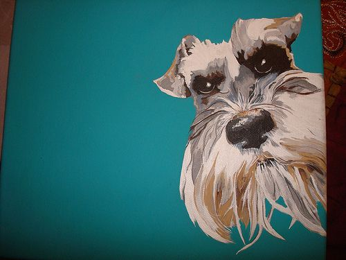 Painting of Pippin by Cathy Del Marnie, via Flickr I want one of Henry!
