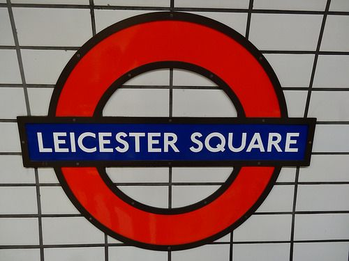 Leicester Square London Underground Station in London, Greater London