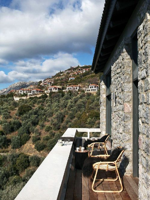 Arachova | Detached House  Greek property Luxurious real estate House in Greece Mountain home Decor inspiration Interior design