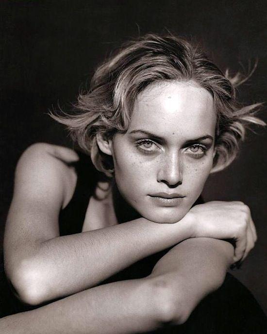 Amber Valetta by Peter Lindbergh