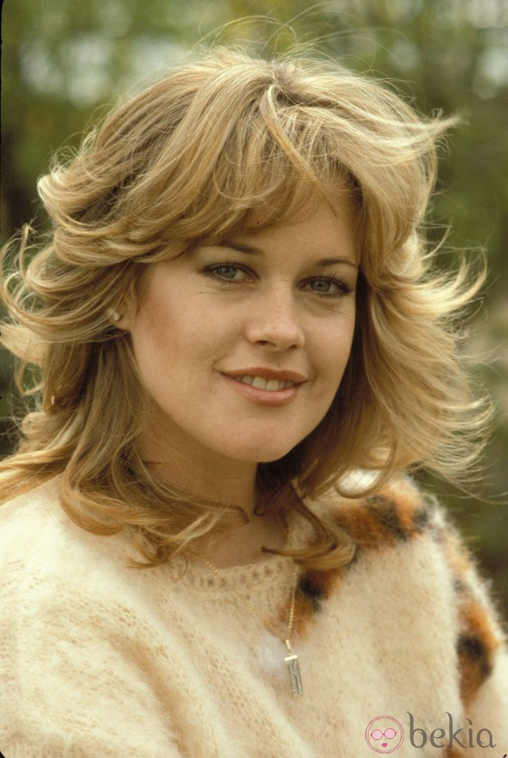 Actress Melanie Griffith, daughter of actress Tippi Hedren