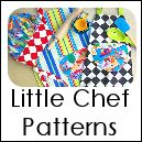TONS of FREE patterns - Kids' chef hat, apron, bags, shoes, purse, pouch, handbag, etc...