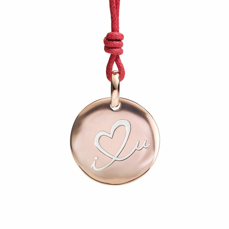 Monetina in oro rosa 9k  9k rose gold little coin love you present gift women #jewellery civita #queriot #gold