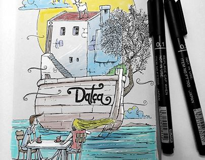 "Check out new work on my @Behance portfolio: ""datca"" http://be.net/gallery/52794359/datca"