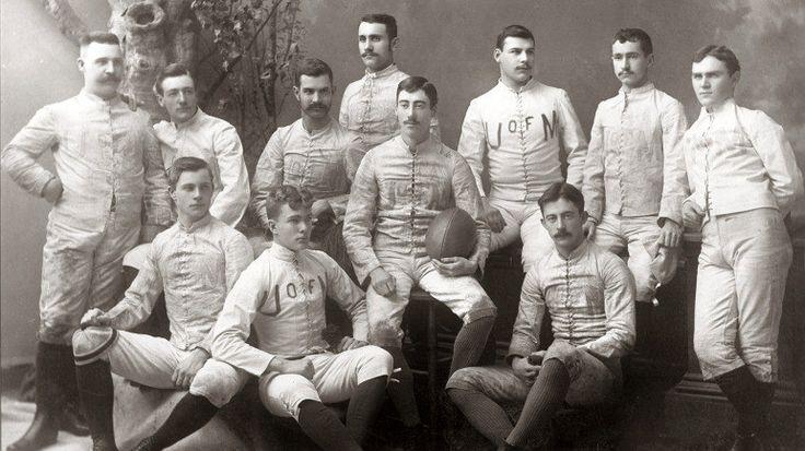 1887 Michigan Football Team Michigan football, Michigan