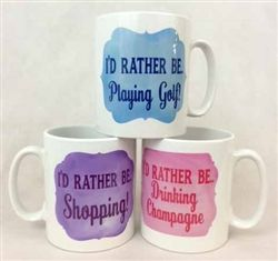 Personalised Mugs for Father's Day! Customise  especially for your Dad - add his favourite hobby or activity to the mug! Available from wowwee.ie for €12.99