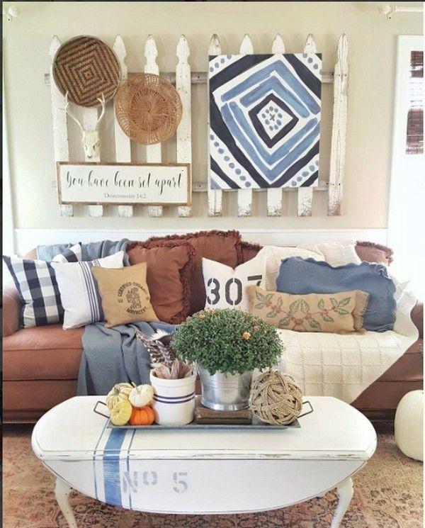 Magischer Blickfang und kreative Ideen Wie man mehr dekoriert als das Sofa   – Diy Kunst