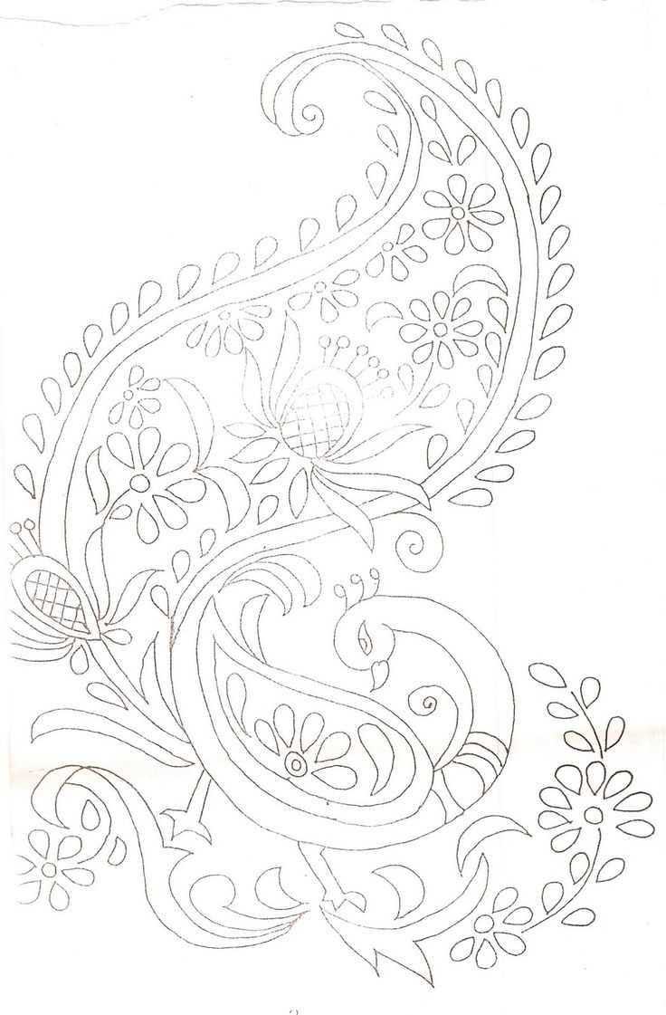 Outline embroidery designs for tablecloth - Lady Craft Embroidery Designs Vi