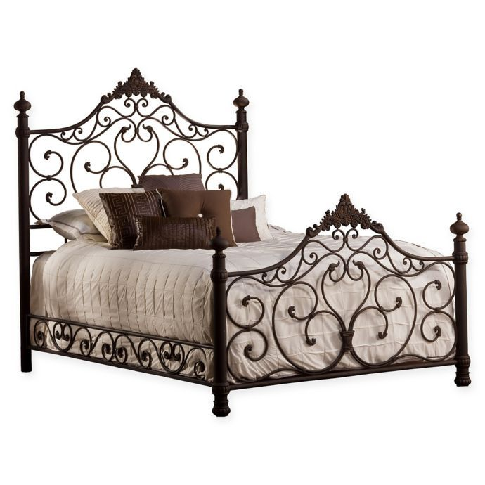 Hillsdale Furniture Baremore Bed In Brown Bed Bath Beyond