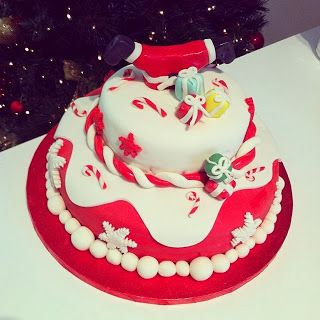 My first Christmas Cake