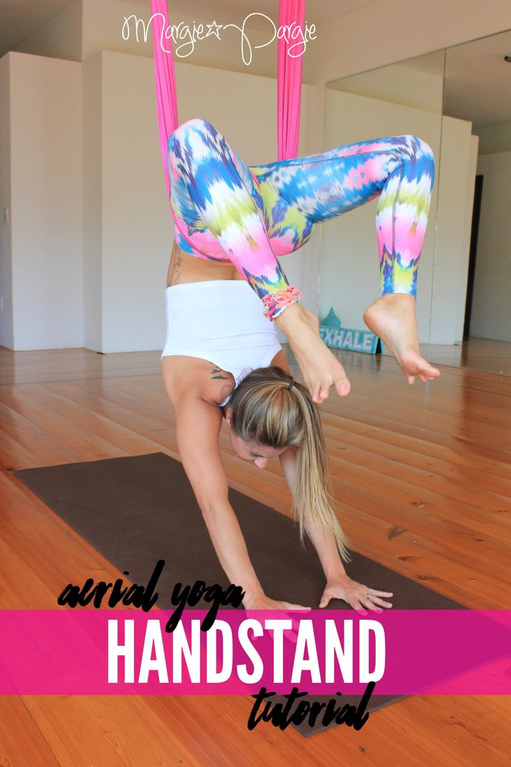 Aerial Yoga Handstand Tutorial