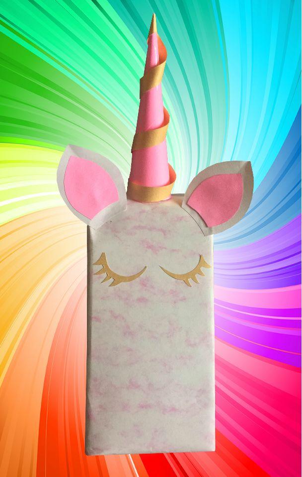#envoltura #unicornio #rosa #regalo