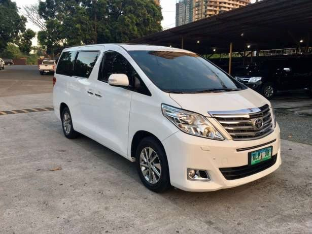 Top of the Line First Owned 2012 Toyota Alphard 3.5L V6 Factory Leather Seats Push Start Power Doors All Original Must See Call 09175287233 for more info or click image for Price #alphard #toyota #landcruiser #toyotaalphard #autotradephils  Please LIKE, LOVE and SHARE this Best Buy Family Van .. Thank You
