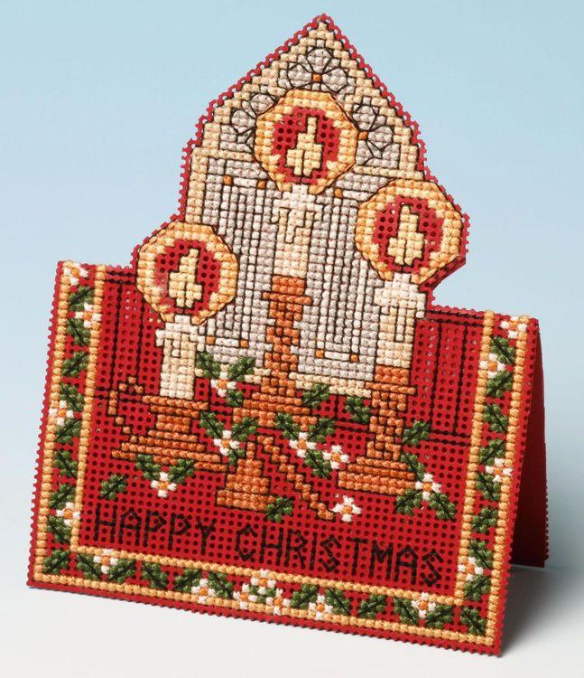 Christmas Lights Card 3D Cross Stitch Kit only £9.55