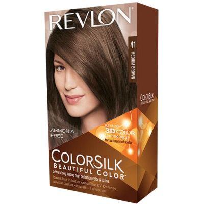 color silk tinte capilar nº 41 castaño medio