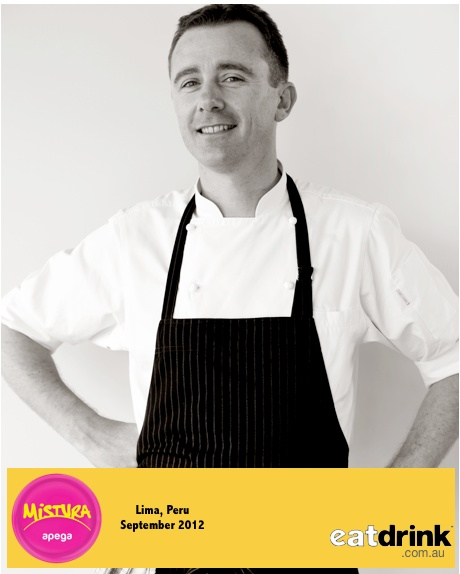 The Royal Mail Hotel's Executive Chef, Dan Hunter will be cooking it with the world's best at the 2012 Mistura, food and wine festival in Lima, Peru in September.