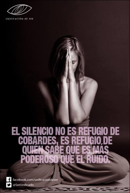Refugio de l@s que sabemos que el Silencio es + poderoso que el ruido.